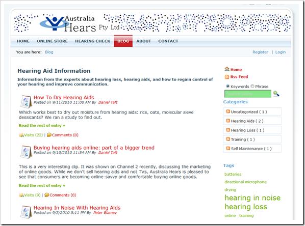 Hearing Aid Blog