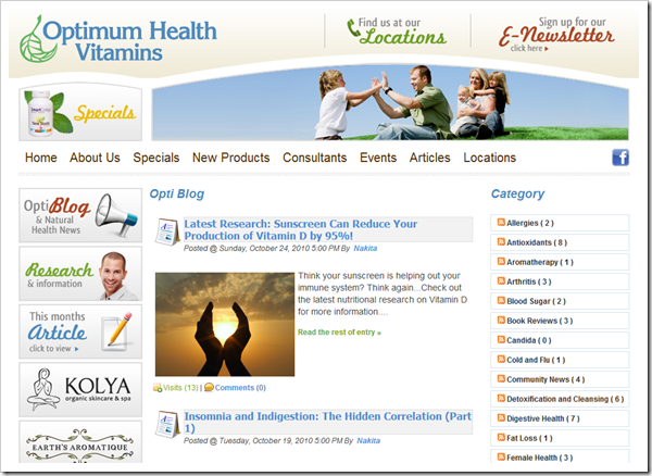 Edmonton's Natural Health Information Blog