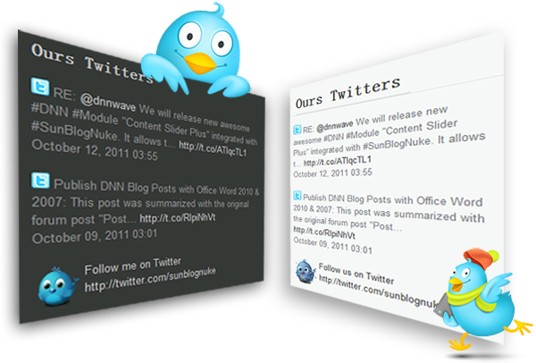 free twitter feed dnn module