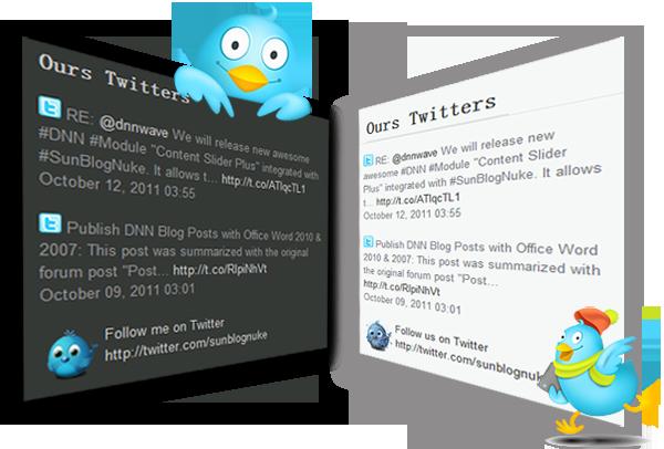 free twitter feed dnn module